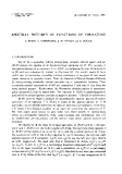 """Báo cáo toán học: """"Spectral pictures of functions of operators """""""