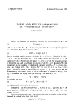 """Báo cáo toán học: """"Hardy and Rellich inequalities in non-integral dimension """""""