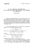 """Báo cáo toán học: """"On the spectral semi-distance and quasi-nilpotent equivalence for systems of operators """""""