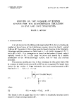 "Báo cáo toán học: ""Bounds on the number of bound states for the Schroedinger equation in one and two dimensions """