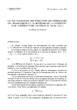 "Báo cáo toán học: ""La factorisation des fonctions des operateurs de transmission et la methode de la construction d'operateurs inversibles dans L^2(0, l) """