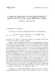 "Báo cáo toán học: ""A note on the space of pseudodifferential projections with the same principal symbol """