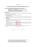 TECHNICAL ENGINEER EXAMINATION (NETWORK)(AFTERNOON, PART 1)