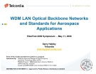 WDM LAN Optical Backbone Networks phần 1
