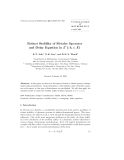 """Báo cáo toán học: """" Robust Stability of Metzler Operato p and Delay Equation in L ( -h, 0 ; X)"""""""