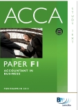acca paper f1 accountant in business phần 1
