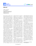 """Báo cáo sinh học: """"The electronic version of this article is the complete"""""""