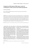 "Báo cáo lâm nghiệp: ""Comparison of the impact of blue spruce and reed Calamagrostis villosa on forest soil chemical properties"""