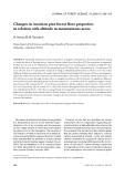 "Báo cáo lâm nghiệp: ""Changes in Austrian pine forest floor properties in relation with altitude in mountainous areas"""