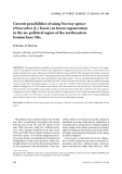 """Báo cáo lâm nghiệp: """"Current possibilities of using Norway spruce (Picea abies [L.] Karst.) in forest regeneration in the air-polluted region of the northeastern Krušné hory Mts"""""""