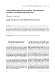 """Báo cáo lâm nghiệp: """"Some methodological aspects of the National Forest Inventory and Monitoring in Slovakia"""""""