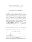 """Báo cáo toán học: """" COMBINATORIAL PROOFS OF CAPELLI'S AND TURNBULL'S IDENTITIES FROM CLASSICAL INVARIANT THEORY"""""""