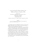 """Báo cáo toán học: """"A Lower Bound for Schur Numbers and Multicolor Ramsey Numbers of K3"""""""