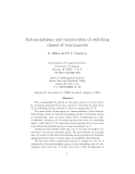 "Báo cáo toán học: ""Automorphisms and enumeration of switching classes of tournaments"""