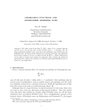 "Báo cáo toán học: ""GENERATING FUNCTIONS AND GENERALIZED DEDEKIND SUM"""