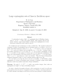 """Báo cáo toán học: """" Large equiangular sets of lines in Euclidean space"""""""