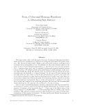"""Báo cáo toán học: """"From a Polynomial Riemann Hypothesis to Alternating Sign Matrices"""""""