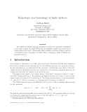 "Báo cáo toán học: ""Abstract We exhibit an explicit homotopy equivalence """