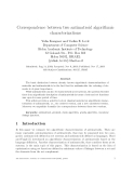 Báo cáo khoa học: Correspondence between two antimatroid algorithmic characterizations