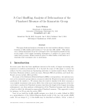 """Báo cáo toán học: """"A Card Shuffling Analysis of Deformations of the Plancherel Measure of the Symmetric Group"""""""