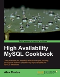 High Availability MySQL Cookbook phần 1