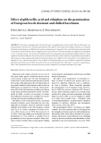 "Báo cáo lâm nghiệp: ""Effect of gibberellic acid and ethephon on the germination of European beech dormant and chilled beechnuts"""