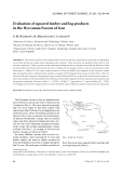 "Báo cáo lâm nghiệp: ""Evaluation of squared timber and log products in the Hyrcanian Forests of Iran"""