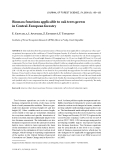 """Báo cáo lâm nghiệp: """"Biomass functions applicable to oak trees grown in Central-European forestry"""""""