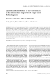 "Báo cáo lâm nghiệp: ""Quantity and distribution of fine root biomass in the intermediate stage of beech virgin forest Badínsky prales"""