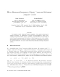 "Báo cáo toán học: ""Meta-Fibonacci Sequences, Binary Trees and Extremal Compact Codes"""