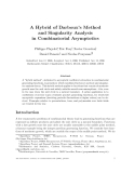 """Báo cáo toán học: """"A Hybrid of Darboux's Method and Singularity Analysis in Combinatorial Asymptotics"""""""