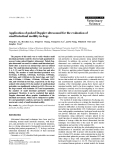 """Báo cáo khoa học: """"Application of pulsed Doppler ultrasound for the evaluation of small intestinal motility in dogs"""""""