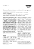 "Báo cáo khoa học: ""Melatonin ameliorates autoimmune encephalomyelitis through suppression of intercellular adhesion molecule-1"""