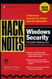 HackNotes Windows Security Portable Reference phần 1