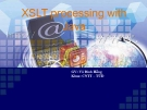 XSLT processing with Java