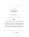 "Báo cáo toán học: ""Combinatorial Interpretations for Rank-Two Cluster Algebras of Affine Type."""
