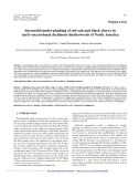 """Báo cáo lâm nghiệp: """"Successful under-planting of red oak and black cherry in early-successional deciduous shelterwoods of North America"""""""