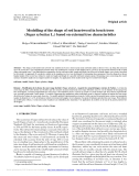 """Báo cáo lâm nghiệp: """"Modelling of the shape of red heartwood in beech trees (Fagus sylvatica L.) based on external tree characteristics"""""""