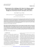 """Báo cáo lâm nghiệp: """"Measurement of free shrinkage at the tissue level using an optical microscope with an immersion objective: results obtained for Douglas fir (Pseudotsuga menziesii) and spruce (Picea abies)"""""""