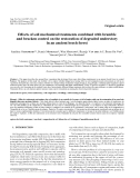 "Báo cáo lâm nghiệp: ""Effects of soil mechanical treatments combined with bramble and bracken control on the restoration of degraded understory in an ancient beech forest"""