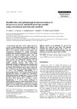 """Báo cáo khoa học: """"Identification and epidemiological characterization of Streptococcus uberis isolated from bovine mastitis using conventional and molecular methods"""""""
