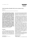 """Báo cáo khoa học: """"Altered maturation of dendritic cells by taxol, an anticancer drug"""""""