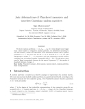 "Báo cáo toán học: ""Jack deformations of Plancherel measures and traceless Gaussian random matrices"""