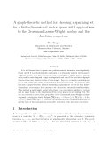 "Báo cáo toán học: ""A graph-theoretic method for choosing a spanning set for a finite-dimensional vector space, with applications to the Grossman-Larson-Wright module and the Jacobian conjecture"""