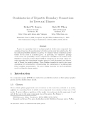 "Báo cáo toán hoc:""Combinatorics of Tripartite Boundary Connections for Trees and Dimers"""