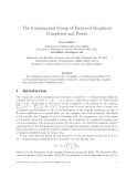 "Báo cáo toán học: ""The Fundamental Group of Balanced Simplicial Complexes and Posets"""