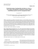 "Báo cáo lâm nghiệp: ""Dendrochronology of pedunculate oak (Quercus robur L.) in an old-growth pollarded woodland in northern Spain: establishment patterns and the management history"""