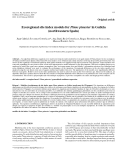 "Báo cáo lâm nghiệp: "" Ecoregional site index models for Pinus pinaster in Galicia (northwestern Spain)"""