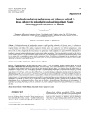 "Báo cáo lâm nghiệp: "" Dendrochronology of pedunculate oak (Quercus robur L.) in an old-growth pollarded woodland in northern Spain: tree-ring growth responses to climate"""