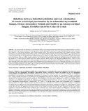 """Báo cáo lâm nghiệp: """"Relations between rhizobial nodulation and root colonization of Acacia crassicarpa provenances by an arbuscular mycorrhizal fungus, Glomus intraradices Schenk and Smith or an ectomycorrhizal fungus, Pisolithus tinctorius Coker & Couch"""""""
